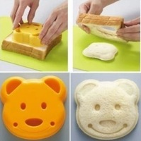 Free shipping Little bear sandwich mold bread mold producer DIY molds