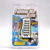 """Follow Me"" Xylo Keychain Game Novelty Key Chain"