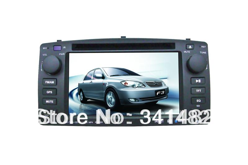 CAR DVD FOR TOYOTA corolla GPS/Bluetooth/FM/AM/RDS/DVD/ RADIO/ TV/USB/SD/IPOD/PIP /Steering Wheel control/ Free Maps(China (Mainland))