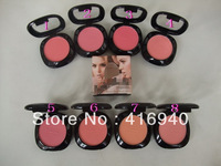 8pcs/lot new cosmetic blush 8color blush for sale free shipping Wholesale high quality