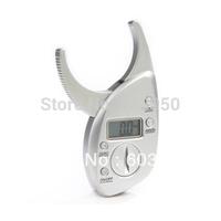 Hot Digital Body Fat Caliper Skin Fold Measurement Fat Thickness retail
