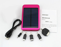 5000 MAH polycrystalline solar cells sale portable solar battery Charger  Universal Power bank for For Nokia/ IPhone/ IPOD etc