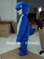 Adult Size Dolphin Mascot Costume Cartoon Character Costumes Fancy Dress Free Shipping