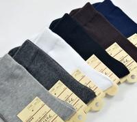 new 2015 High Quality! autumn winter male 100% cotton socks warm sports socks fashion meias casual men's solid color socks