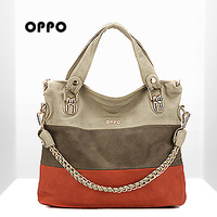 free shipping oppo  women's handbag 9191 - 9 fashionable casual one shoulder women's cross-body bag popular 2012