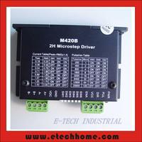 CNC 20/28/36/39/42mm Stepper Motor Driver M420B For NEMA 8 11 14 16 17 Stepper  0.25-2A DC18-40V 2 Phase