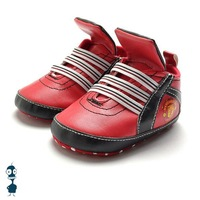 Baby boys red sports casual shoes first walkers soft sole antiskid infant footwear prewalker high quality branded shoes K78