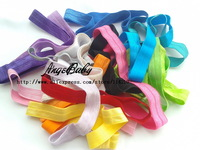 200pcs 17Color U-Pick 15CM Hair Elastic Band Toddler Knit Headband Girl Hair Accessory Kid Ribbon Children Headwear