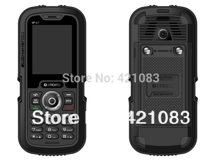 LM129 Long standby time Three anti-phone Nomu original phone function waterproof shockproof mobile(China (Mainland))