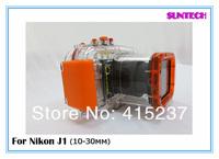 Camara impermeable Underwater 40M camara waterproof case underwater camera bag Diving Camara digital for Nikon J1(10-30mm)