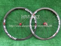 New C35 Road bike 3K full carbon bicycle wheelset clincher rim carbon wheelset 700C (38mm)+spokes+hubs free ship