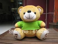 Doll Speaker FM Radio Mini Speaker for MP3 MP4 Mobile Phone PC Laptop U Disk SD Card-dressed bear