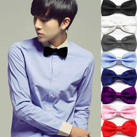 Formal commercial bow tie male solid color bow tie marriage bow tie bow