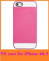 Newest NX case 3 in 1 mobile phone case For apple iPhone 4, 4s & 5 5G