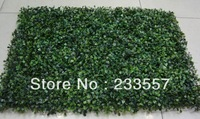 sample order Artificial plastic boxwood grass mat 40cm*60cm