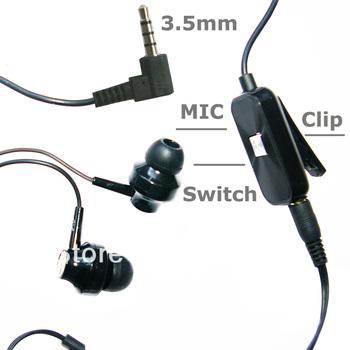 Stereo Mega Bass Stereo Music Earphone Headset Headphone For HTC G13 WILDFIRE S A510E A3380 A510C S