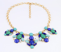 Free Shipping  vintage elegant medium-long necklace  fashion statement jewelry for women 2013 sale