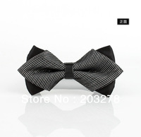 2013 newest  England wedding groom bow tie compere Double Angle bowties top grade Boutique bows wholesale