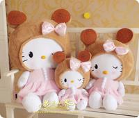 Free shipping legal copy Long 45cm Lovely hELLO Kitty Wedding birthday gift 2013 Cotton wedding gifts1PCS/lot PlushToy