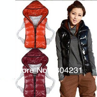 women's winter vest lady 2014 new sleeveless winter jackets waitcoat free shipping