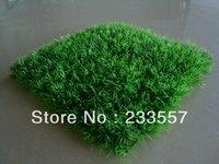 Free shipping 25*25 artificial plastic decorative grass mat
