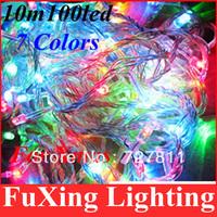 Holiday Christmas decoration sale 100 LED 10m 220V Colorful Christmas light string holiday light for christmas