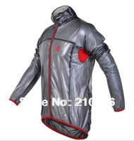 Free shipping!Portable ultra light transparent new brand castelli cycling windbreaker raincoat , cycling rain  jacket