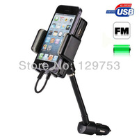 New Gen ALLKIT 3 in 1 (FM Transmitter + Car Charger + Rotating Car Cradle) Kit for iPhone 5/5S/5C/ Touch 5, free shipping