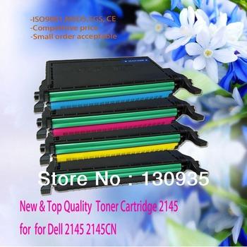 Ebay Hot Sales!!  2145, 2145cn Compatible for Dell Color Toner Cartridge for 330-3789, 330-3792, 330-3791, 330-3790 Printer