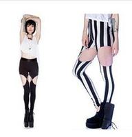 Free Shipping Sling personality suspender Leggings
