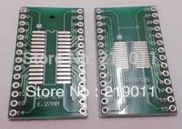 FREE SHIPPING 36PCS TSSOP28 SSOP28 MSOP28 SOP28 TURN DIP28 28pin IC adapter Socket / Adapter plate PCB Suitable for IC socket