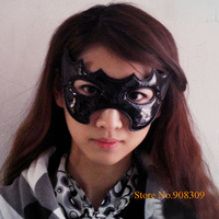 Halloween party Mask, Bright Leather Batman mask, Masquerade Masks, Halloween Props, 10pcs/lot, Free Shipping & Drop shipping