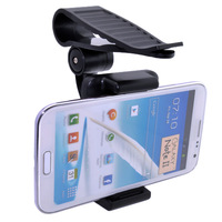 Universal Car Sun Visor Sunshade Clip Mount Holder For iPhone 5 4 4S 3 Samsung Galaxy S3 i9300 Mini i8190 Google nexus 4