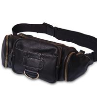 TOKharoi 2013 New Arrival Handmade Leather Practical Waist packs Men and Women Sport Bags