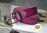 100% Cowhide Leather New 2014 Woman Fashion All match Jeans Wide Belt Cinto Female Strap Ladies Ceinture Purple Brown  WBT0017