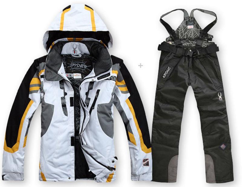 сноуборд куртка хлопчатобумажная лыжный костюм Зимняя ветрозащитный дышащий Мужская  куртка da23622a2ef