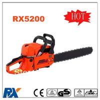 High power 0.9KW 5200 chainsaw 52CC