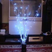Wishing lamp led lights flasher lamp set decoration flower derlook 50 clothing holiday lights