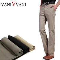 Summer thin 100% commercial cotton casual pants slim casual pants straight male