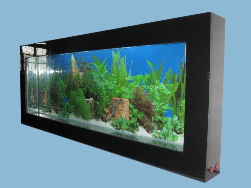 mounted aquarium wall aquarium glass fish tank acrylic wall fish tank ...