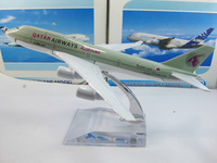 Free Shipping!Qatar Airways B747-400 Civil Aviation airplane model,16cm metal airlines plane model,airbus prototype machine
