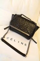 Women's handbag fashion crocodile pattern shoulder bag