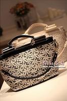 2013 women's handbag high quality water soluble lace little daisy elegant ladies gentlewomen bag messenger bag