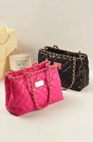2013 all-match fashion bucket bag chain one shoulder handbag women's handbag bag bags small sachet plaid bag