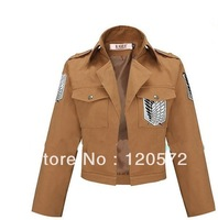 Attack on Titan Shingeki no Kyojin Legion Scouting Cosplay Costume coat