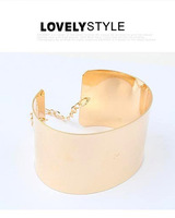 New 2014 Fashion Punk Personalized Metal Bracelets Bangle Jewelry Wholesale S2 S3