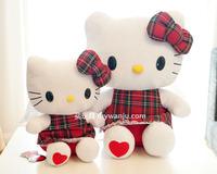Free shipping Little hELLO Kitty stuffed toys legal copy Long 25cm Wedding birthday gift 2013 Cotton wedding gifts PlushToy