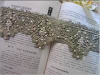 Fashion handmade fabric diy beading warfactory laciness clothes curtain hair accessory laciness accessories 10cm