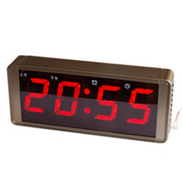 Voice alarm clock led wall clock electronic clock alarum digital pocket watch clock quieten luminous