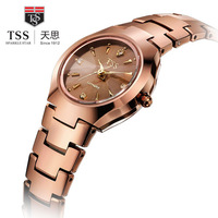 Ms free shipping new authentic luxury fashion brand authentic tungsten steel watches